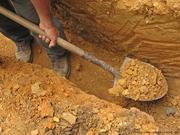 Выкопаем сливную яму,  септик,  приямок,  смотровой колодец